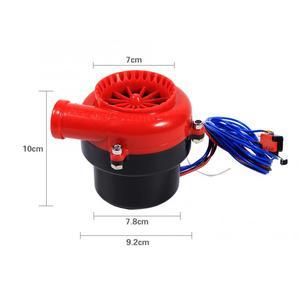 Image 2 - Зарубежный Автомобильный Электронный поддельный Dump Турбокомпрессор, выдувный клапан с гудком, аналоговый звук, комплект для симулятор BOV, АБС пластик
