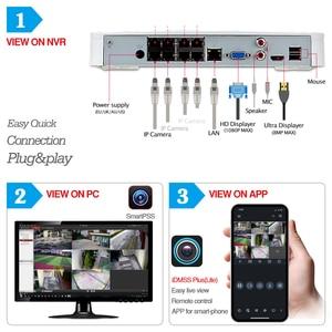 Image 4 - Dahua Kit de cámara CCTV de seguridad, 4MP, 8 + 4, cámara IP de NVR4108 8P 4KS2, IPC HDBW4433R ZS, ZOOM 5X, P2P, juegos de vigilancia, fácil de instalar