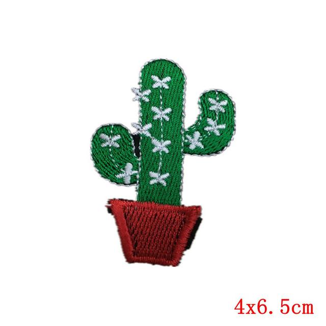 Cactus Plant Patch for Clothes