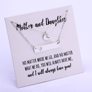 Mother and Daughter Set Heart