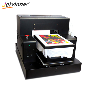 Jetvinner 8-color A3 Size DTG Printers R2000 Flatbed Printers For Adult and Children T-shirt, Jeans, Shirt, Jecket, Canvas Bag
