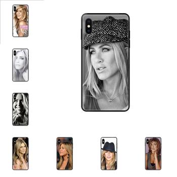 Jennifer Aniston For Galaxy S5 S6 S7 S8 S9 S10 S10e S20 edge Lite Plus Ultra Rubber TPU Soft Phone Accessories Cover Case image