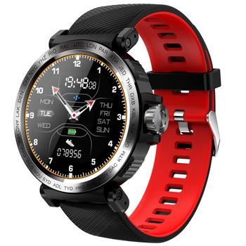 HETNGSYOU S18 Full Screen Touch Smart Watch IP68 waterproof Men Sports Clock Heart Rate Monitor Smartwatch for IOS Android phone
