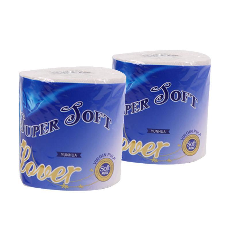 100g Toilet Paper Roll Pack Bathroom White Soft Toilet Paper Roll Towel Three Layers Rolling Paper Gift Bathroom Household Sheet