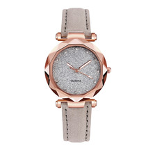 Korean Rhinestone Quartz Sport Leather Belt Watch SF