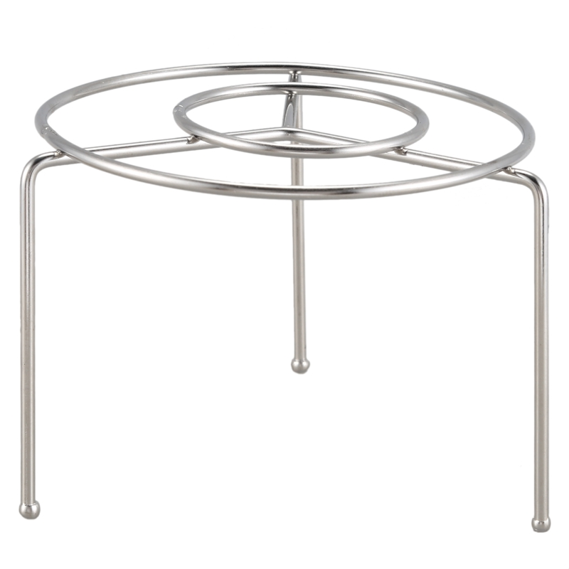Promotion! Stainless Steel Food Steaming Stand Steamer Rack 11.5cm Dia