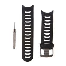 Replacement Watch Band For Garmin Forerunner 610 TPU Smart Watch Strap L41E