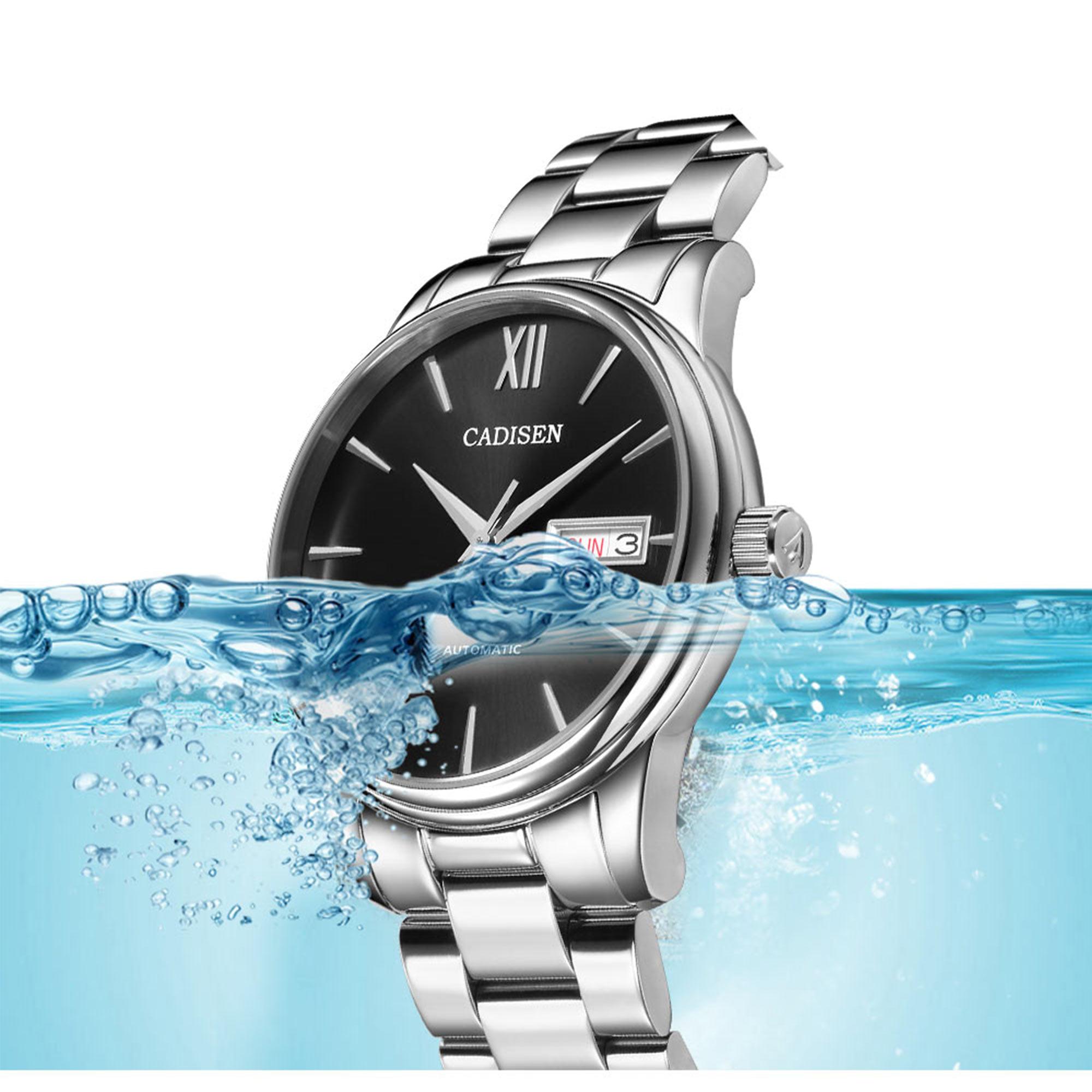 H9044d73739254fdbb962d9edecd8e1c4k CADISEN Men Watch Automatic Mechanical Watches Role Date Week Top Luxury Brand Japan NH36A Wrist watch Clock Relogio Masculino