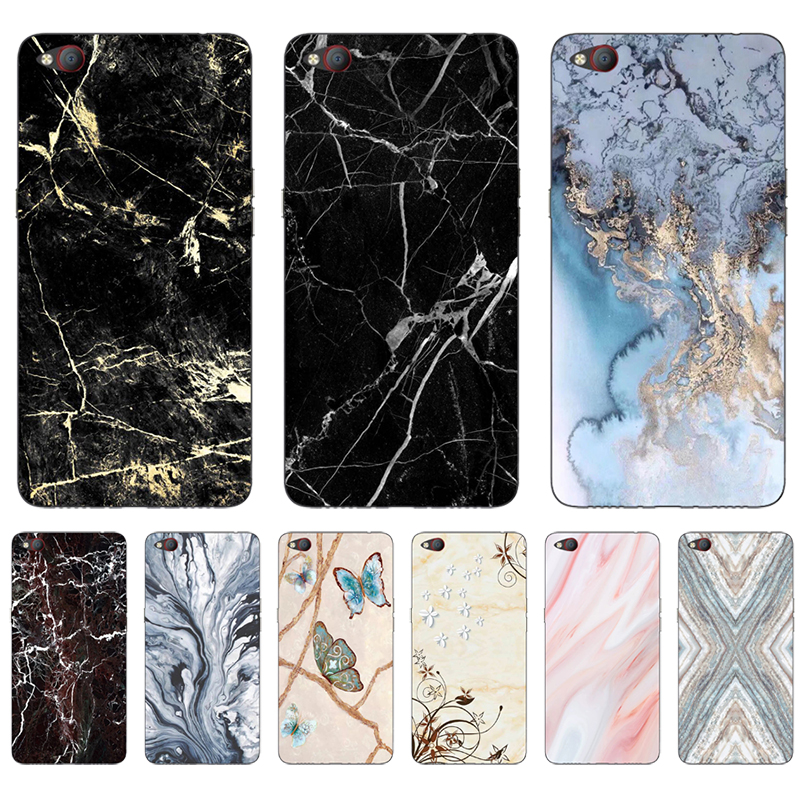 Marble Art Phone Case For ZTE Nubia N2 5.5 Inch NX575J Case Soft TPU Silicone For Nubia N2 Cover For Nubia N 2 N2 Bumper Case(China)