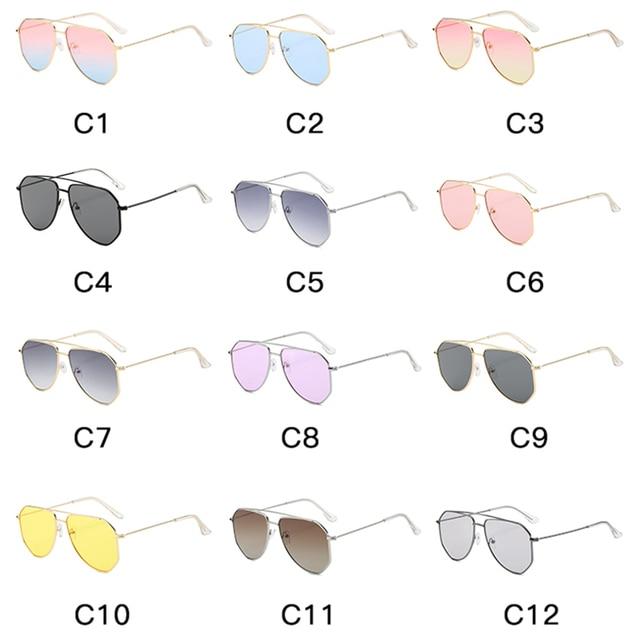 классические солнцезащитные очки авиаторы yameize в металлической фотография
