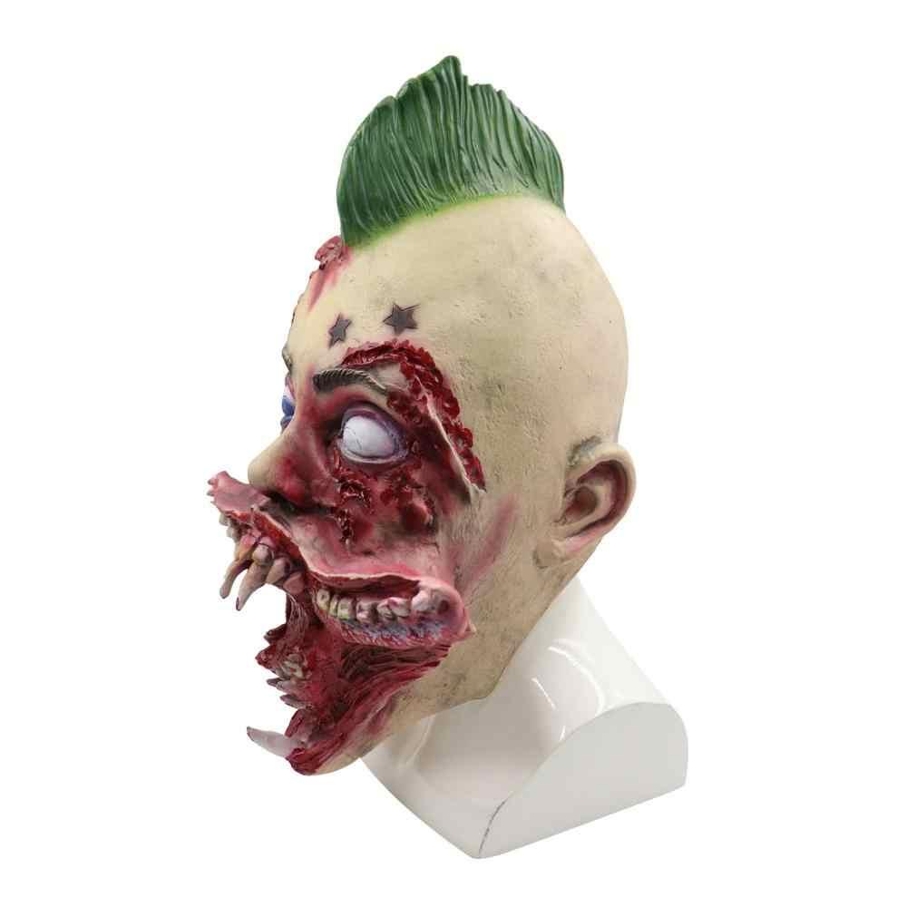 Alien маска на Хэллоуин вечеринку маска ужаса дом с привидениями бутафория Косплей Карнавал Праздник