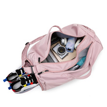 MissYe Bagmall  Wet and dry shoes training yoga bag female high-capacity leisure travel portable luggage sports fitness
