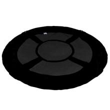 """4"""" 100 см Большая вместительная Детская уличная круглая подвесная тканевая крышка черного цвета с изображением дерева, защитная крышка, защитная сумка"""