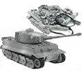 4D Modell Gebäude Kits Militär Modell Montage Tiger Tank Panzerkampfwagen VI Pädagogisches Spielzeug Sammlung Material Hoher dichte