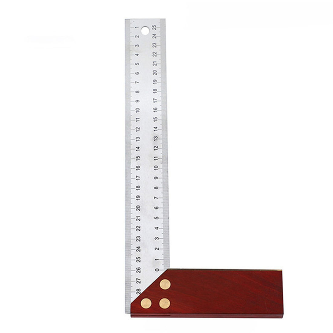 300mm 45/90 Degree Gauge Right Angle Ruler Stainless Steel Measuring Replacement Measurement And Analysis Instruments