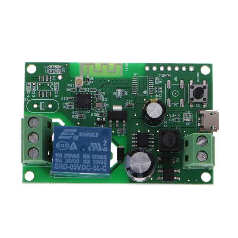 Contrôle intelligent d'app de Module de relais de commutateur sans fil de WiFi de verrouillage automatique de cc 5 V-32 V