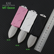 folding knife Mark 204p blade Aviation aluminum(t6-6061)handle  Wallet folding camping tactical EDC Knife