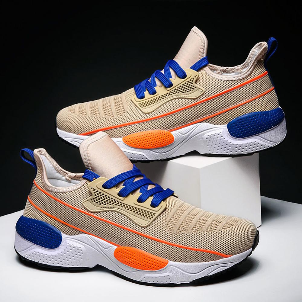 Fashion Men's Shoes Portable Breathable Running 46 Large Size Sneakers Comfortable Walking Jogging Non-slip Casual Sport 2020