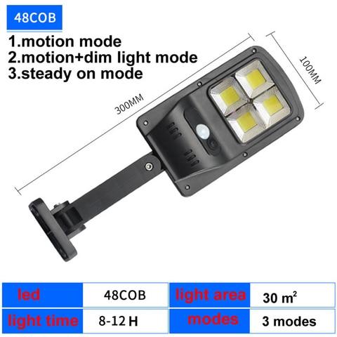 luz solar 120 led jardim lampada de