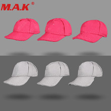 5 Colors 1:6 Baseball Cap Leisure Hat Model Without Mark For Obitsu Doll Figure Accessory