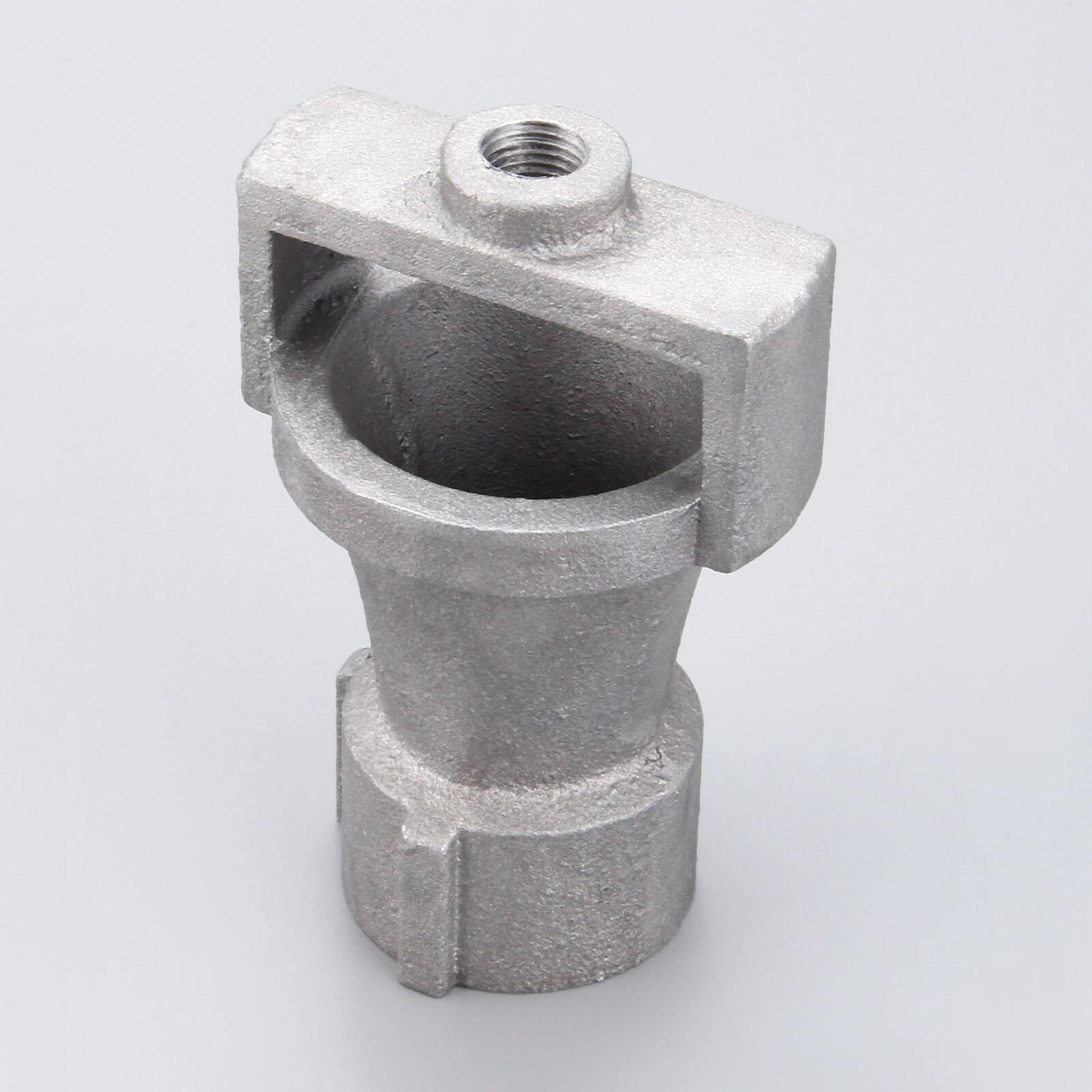 Gas Industry Boiler Heaters Burner Replacements Cast Alumium Venturi Burner Parts Inlet 1inch BSP & Outlet 1/4inch BSP