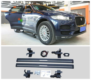 Electric Motor Automatic Switch Closed Running Boards For JAGUAR F-PACE E-PACE 2016-2021 Side Step Bar Pedals Nerf Bars