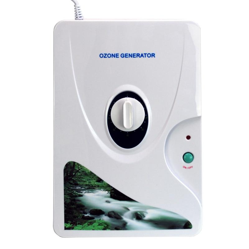 Portable Air Ozone Generator Ozonator Water Ionizer O3 Timer Air Purifiers
