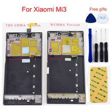5.0 Inch Voor Xiaomi Mi3 Lcd-scherm Voor Xiaomi Mi3 Lcd Touch Screen Digitizer Panel Assembly Met Frame Tds cdma Wcdma(China)