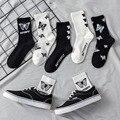 Женские модные носки для скейтборда в стиле Харадзюку, Размеры 35-42