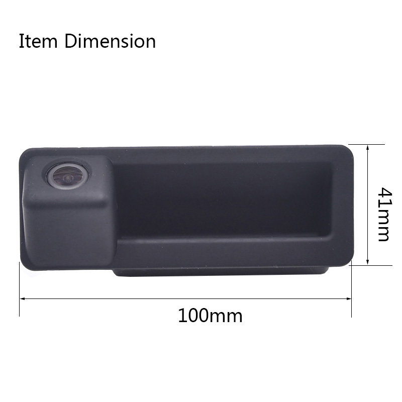 Caméra de vision arrière pour BMW E60 E61 | 150 degrés, poignée de coffre de voiture, caméra de recul