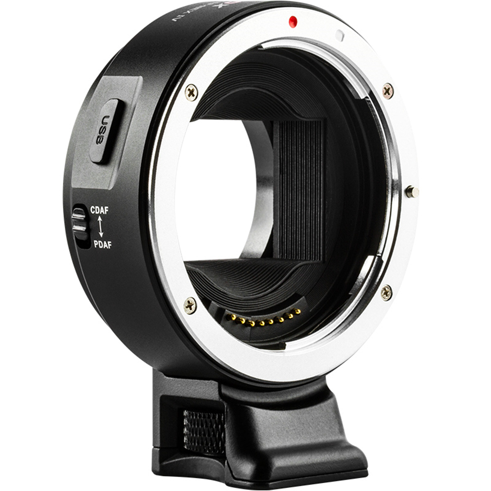 Viltrox EF-NEX IV Auto Focus Lens Adapter For Canon EOS EF EF-S Lens To Sony E NEX Full Frame A9 AII7 A7RII A7SII A6500 A6300