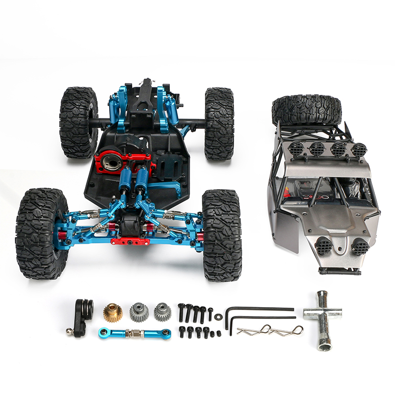 Feifue FY-03H upgrade version 1/12 RC 4WD Model Car Buggy Monster Bigfoot Truck Empty Frame Brushless version PK <font><b>WLtoys</b></font> <font><b>12428</b></font> image