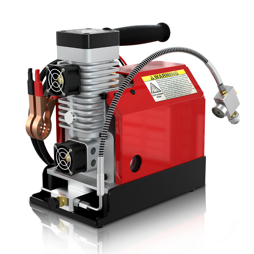 12V / 110V 30MPa 4500PSI High Pressure Air Pump Electric Air Compressor For Pneumatic Airgun Scuba Rifle PCP Inflator