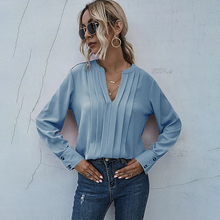 Clothing Shirt Long-Sleeved Pregnant-Women Casual Chiffon Party Ladies New