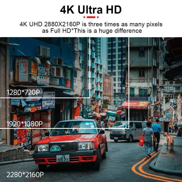 E-ACE B44 Car Camera 4K Dash Cam GPS Track WiFi Car DVR Dashcam Sony IMX335 Sensor Night Vision Recorder 2