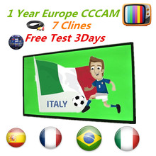 Europe Cccam Cline for 1 year Europe Free Satellite  Line Share Severportugal/Italy/Spain/French/Germany IKS Satellite Receiver