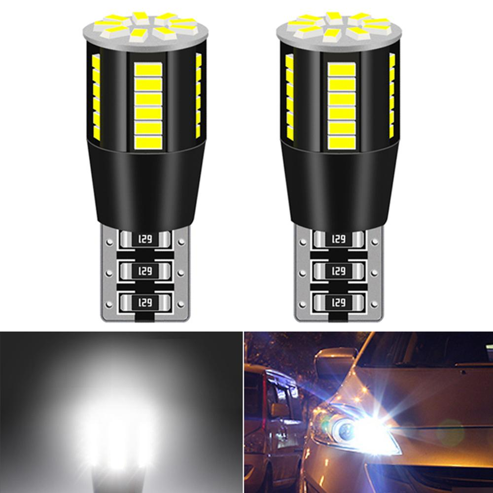 2x W5W <font><b>T10</b></font> <font><b>LED</b></font> <font><b>Bulbs</b></font> <font><b>Car</b></font> Parking Lights Side Marker License Plate Lamp For Hyundai Tucson Ix25 Creta Kona IX35 Solaris Accent image