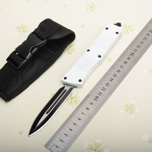 A161WH 9.3CM Tactical Folding Knife 440C Blade/Zinc alloy handle 58HRC Outdoor Camping Hunting Survival Pocket Utility EDC Tools охотничий нож cr classica sebenza 21 440c 58hrc 1 01968 1pcs lot