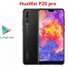 Originele Huawei P20 Pro 4G Lte Mobiele Telefoon 40.0MP + 20.0MP + 8.0MP + 24.0MP Kirin 970 6.1