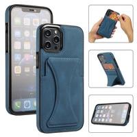 Funda de teléfono con correa de muñeca para iPhone, 11, 12 Pro, Max, XR, XS, Max, X, 7, 8 Plus, 11, 12 Pro, billetera de cuero de lujo, funda suave con soporte