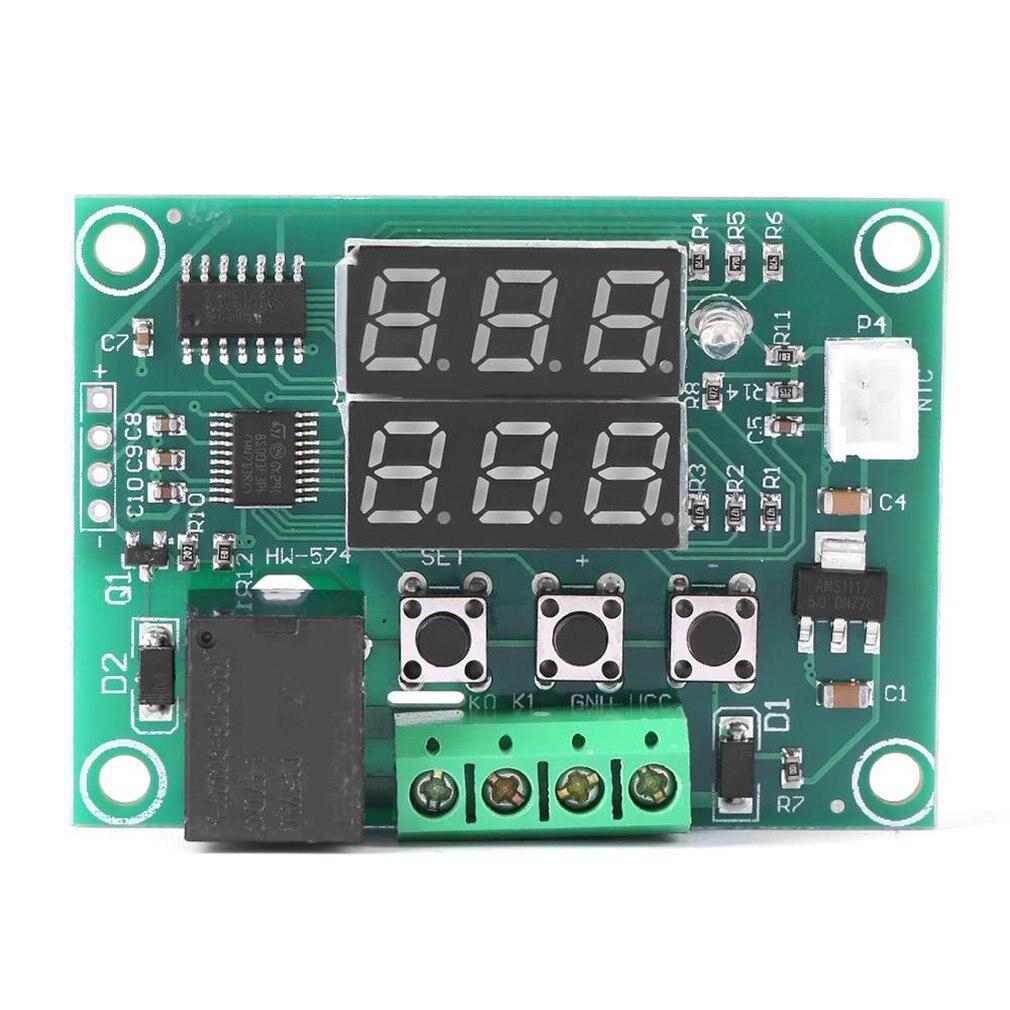 Dual Display Digital Temperature Controller High Accuracy Temperature Control Switch Control Precision 0.1