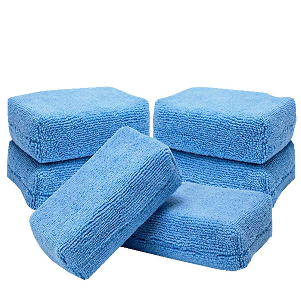 Polishing-Pad Microfiber-Sponge Car-Detailing Sponge-Cloths Car-Wash-Tool Auto-Cleaning