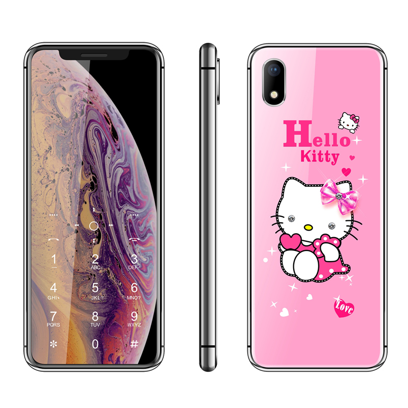 Luxury Cute Hello Kitty Girl Phone 2.4