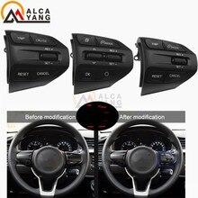 Кнопка рулевого колеса для KIA K2 RIO RIO X линейные кнопки Bluetooth телефон круиз контроль громкости