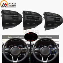 Steering Wheel Button For KIA K2 RIO 2017 2018 2019 RIO X LINE Buttons Bluetooth Phone Cruise Control Volume .(China)