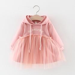 Детское платье с длинным рукавом, на возраст 1 год