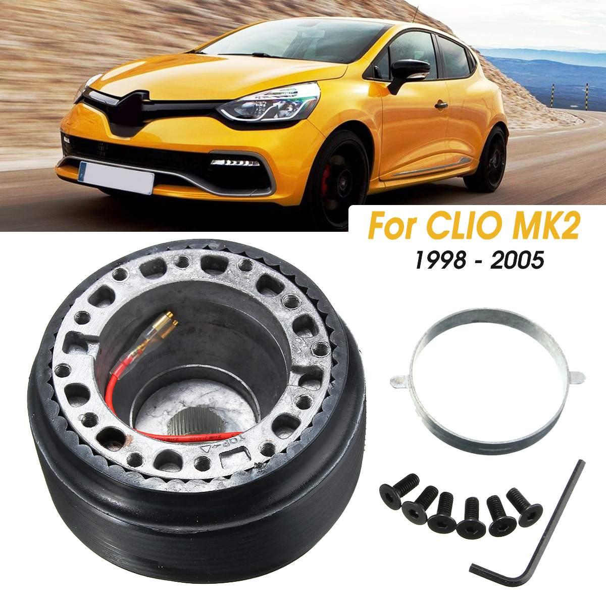 Руль гоночный концентратор адаптер Босс комплект подходит для Renault CLIO MK2 1998 1999 2000 20001 2002 2003 2004 2005