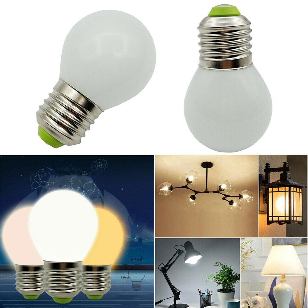 Three Colors Changing LED Bulbs E26 E27 B15 B22 E14 E12 3W Equival 30W Incandescent Lmaps 110V 220V Home Lighting