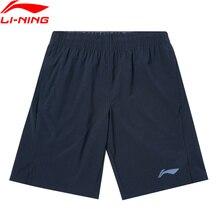 Li-Ning Men Basketball Shorts AT DRY Breathable Regular Fit 86% Polyester 14% Spandex LiNing Sports Bottoms AKSQ127 MKD1674