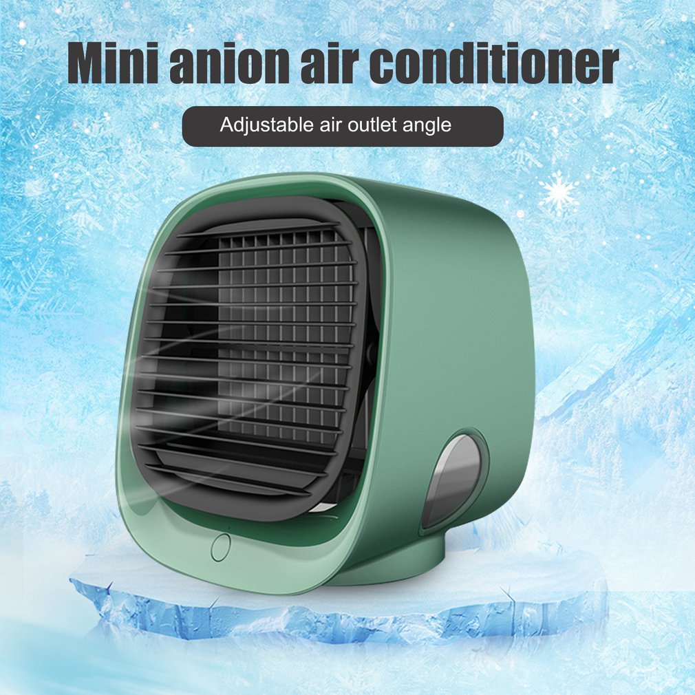 Mini Portable Air Conditioner Multi-function Humidifier Purifier <font><b>USB</b></font> Desktop Air Cooler <font><b>Fan</b></font> with Water Tank Home <font><b>5V</b></font> for room Hot image